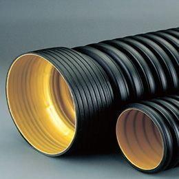 HDPE Double Walled (Corrugated) Pipes